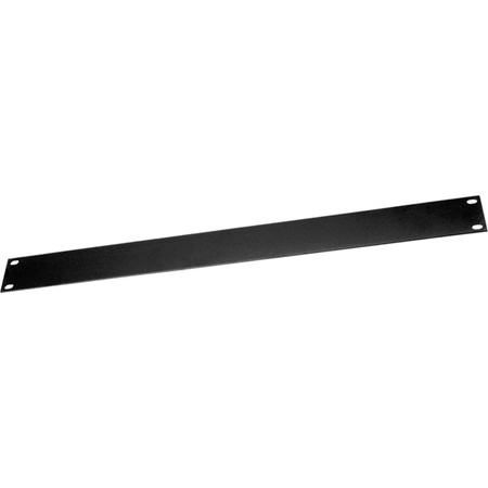 Middle Atlantic FEB-1 Econo Series Powder Coated Flat Steel Blank Rack Panel - 1 Space