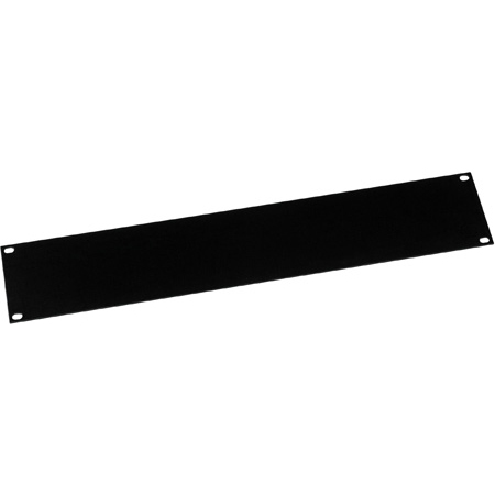 Middle Atlantic FEB-2 Econo Series Powder Coated Flat Steel Blank Rack Panel - 2 Space