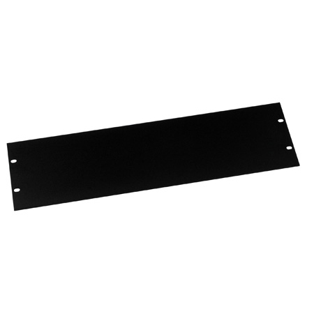 Middle Atlantic FEB-3 Econo Series Powder Coated Flat Steel Blank Rack Panel - 3 Space