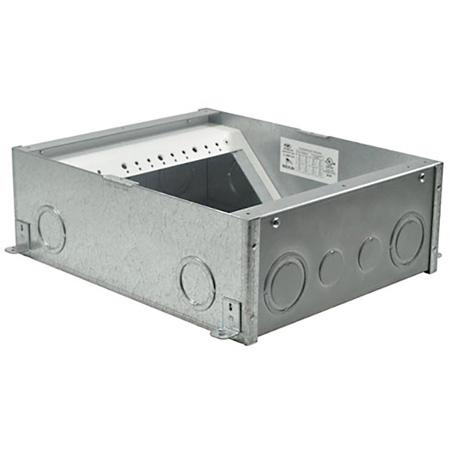 FSR FL-500P Back Box - 4 inch Deep Floor Box Pocket