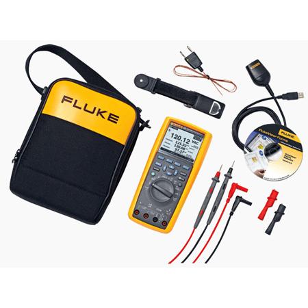 Fluke 289/FVF True-RMS Industrial Logging Multimeter Combo Kit with FlukeView Forms