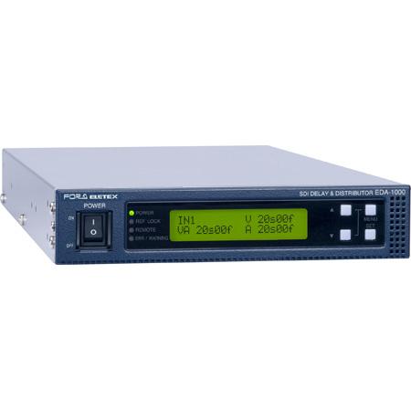 FOR-A EDA-1000 1U Half Size SDI Audio/Video Delay Unit & Distributor - Supports 4K