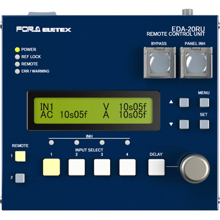 FOR-A EDA-20RU Remote Control Unit for EDA-1000 & EDA-2000 Audio/Video Delay Units