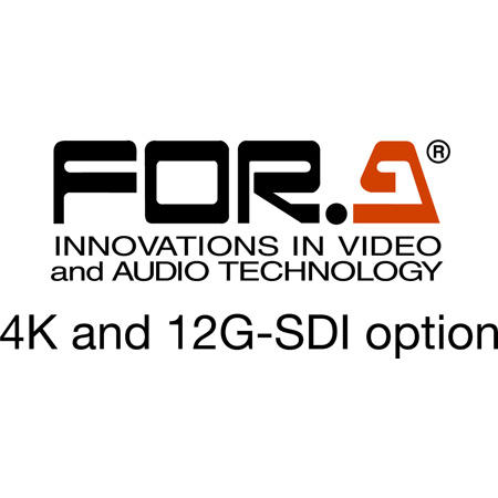 FOR-A FA-964K 4K/12G-SDI-compatible Software Option for FA-9600 (Download)