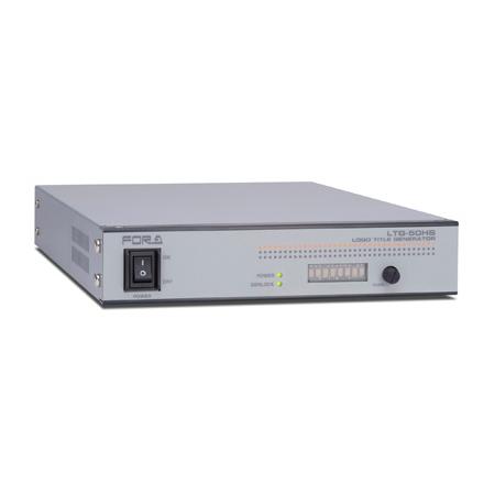 FOR-A LTG-50HS HD/SD Logo/Title Generator