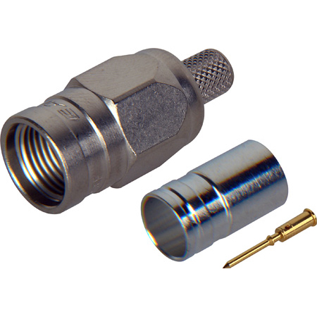 Canare FP-C53A F Connector for Belden 1694A or RG-6 Coax