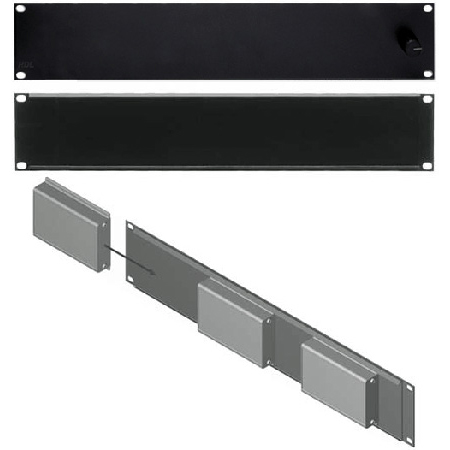 RDL FP-RRA Rack Adapter Flat-Pak Series - 19in Fixed