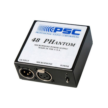 PSC FPSC0001 48 Phantom Microphone Power Supply
