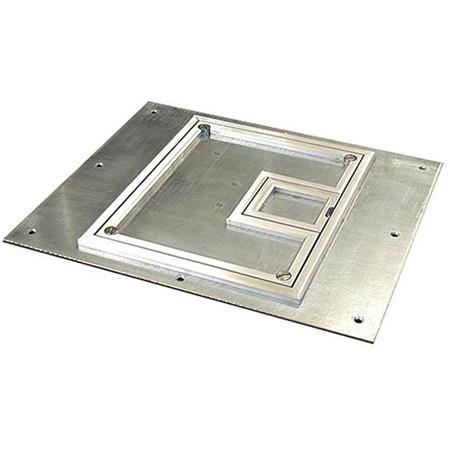 FSR FL-500P-SLP-C Cover for the FL-500P with 1/4 Inch Aluminum Carpet Flange (Lift off door)