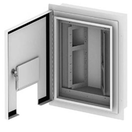 FSR OWB-X3-SM-XLR Outdoor Wall Box - Surface Mount - 4 Rows of 8 Neutrik D-1 Holes