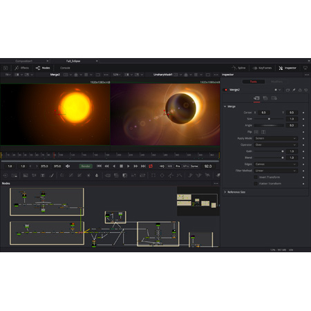 Blackmagic Fusion Studio 16 - Visual Effects/3D/VR and Motion Graphics