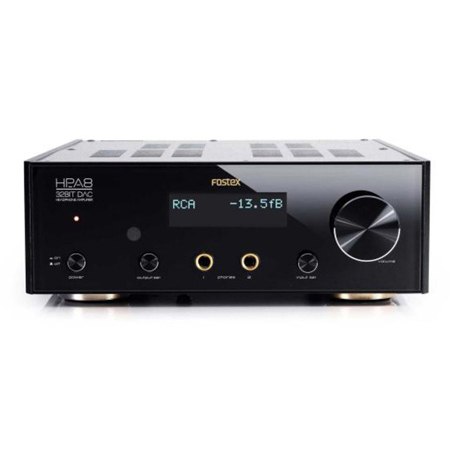 Fostex HP-A8C Headphone Amplifier and 32 Bit D/A Converter