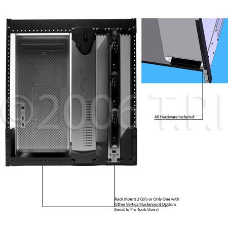 Redco G5-1210HD Heavy Duty Apple G5 / Intel Mac Pro Rackmount