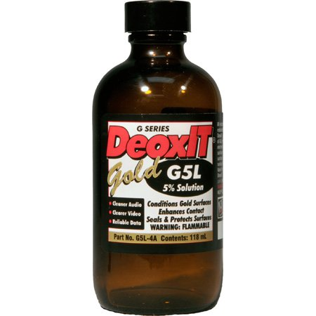 CAIG Products DeoxIT® GOLD G5L-4A Liquid 5 Percent Solution 118 ml