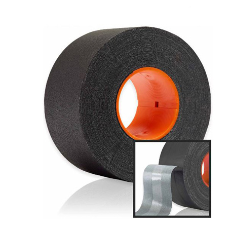 GAFFTECH GT Pro with DryChannel Matt Cloth Gaffers Tape for GaffGun 2 Inches x 55 Yards - Black