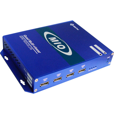 Gra-Vue MIO MVS-4HDMI Mini Quad HDMI Input Multiviewer with DVI/HDMI Output