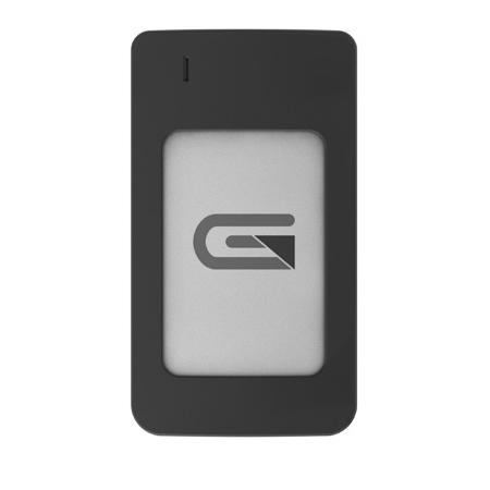 Glyph AR1000SLV Atom USB-C (3.1 Gen 2) / USB3.0 SSD Compatible with Thunderbolt 3 - Silver 1TB Raid