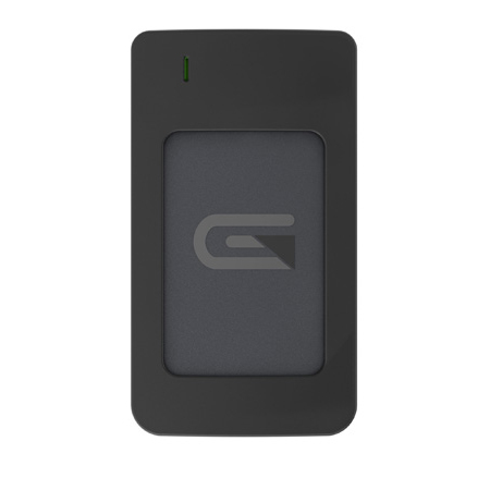 Glyph AR2000GRY Atom USB-C (3.1 Gen 2) / USB3.0 SSD Compatible with Thunderbolt 3 - Grey 2TB Raid