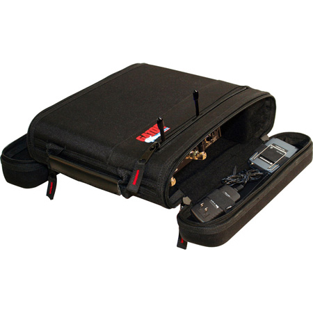 Gator GM-1WEVAA EVA Foam Case for a Single Wireless Mic System - Half Rack