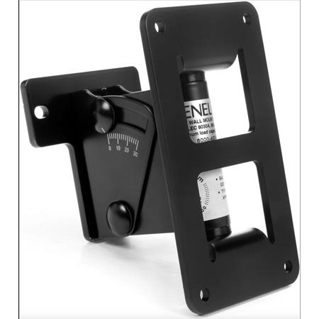 Genelec 8000-402B Adjustable Wall Bracket - Fits all 4000 Series Speakers - Black Finish