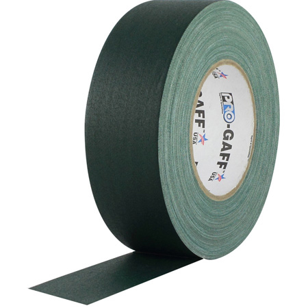Pro Tapes 001UPCG155MGRN Pro Gaff Gaffers Tape GRGT1-60 1 Inch x 55 Yards - Green