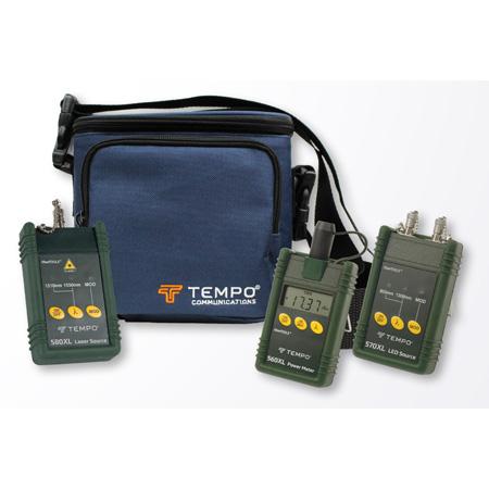 Tempo 5890-ST Multimode & Singlemode Fiber Optic Test Set with ST Interface