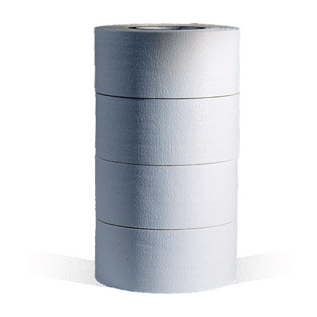 MicroGaffer White GT-3333 1-Inch x 8-Yard Gaffer Tape 4-Roll Multi-Pack