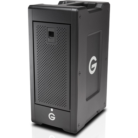 G-Tech 0G04647 G-SPEED Shuttle XL Thunderbolt 2 with RAID and 8-Bay Storage Enterprise Class HDD - 32TB - Black