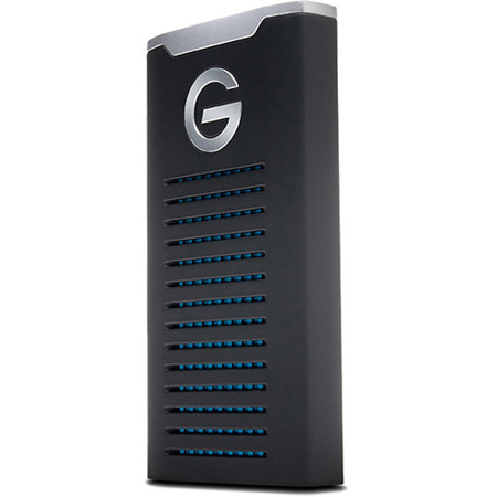 G-Tech 0G06053 G-DRIVE Mobile SSD R-Series USB 3.1 Gen-2 Type-C/Type-A HDD - IP67 Water & Dust - Crushproof - 1000GB