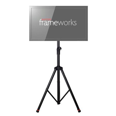 Gator GFW-AV-LCD-1 Frameworks Standard Adjustable Tripod LCD/LED Stand For 100mm VESA compatible monitors
