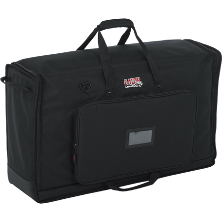 Gator G-LCD-TOTE-MDX2 LCD Tote Series Dual LCD Transport Bag for Screens 27 to 32 Inches