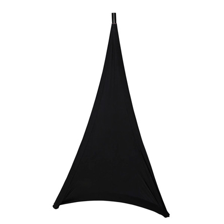 Gator GPA-STAND-1-B Stretchy Speaker Stand Cover - 1 sided - Black