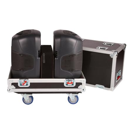 Gator G-TOUR SPKR-212 Double Speaker Case For Two 12 Inch Loud Speakers