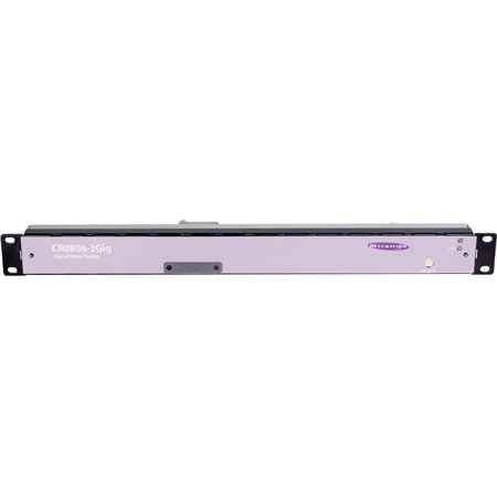 Grass Valley CR0808-3GIG NVISION 8x8 Single Link 3G/HD/SD Serial Digital Video Router 1 RU