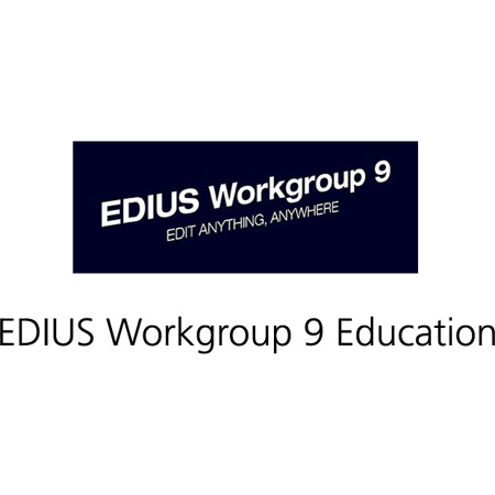 Grass Valley EDIUS Workgroup 9 Education for Education Only - No Commercial Use - Not Upgradable