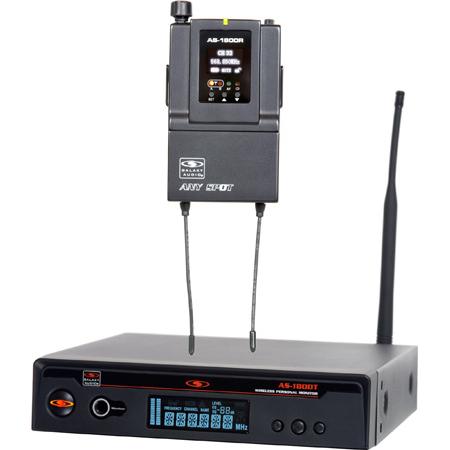 Galaxy Audio AS-1800 Wireless Monitor System - Code B3 554-570 MHz