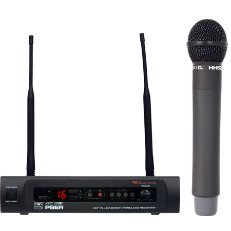 Galaxy Audio PSER/HH52 16 Channel UHF Handheld Wireless Mic System - D Band