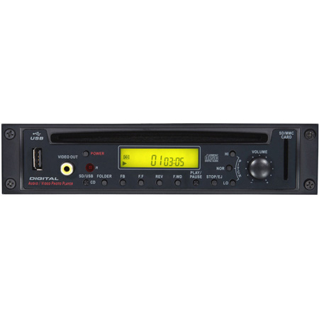 Galaxy Audio RM-CDV Graphic CD Player with Remote Module for Traveler TV8 and TV10