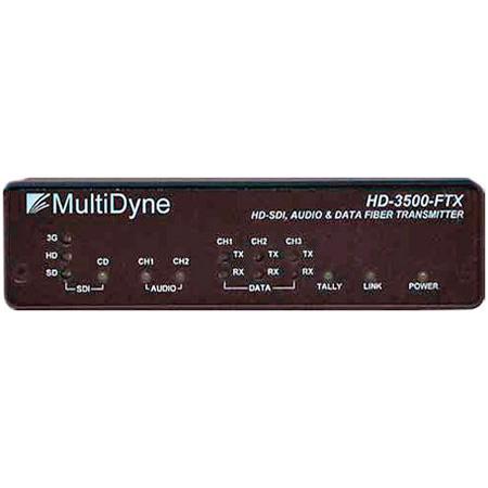 Multidyne HD-3500-TRX-ST 3G HDSDI Over Fiber Optic Converter - Tx