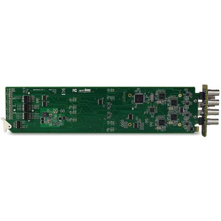 Multidyne HD-4400OG-FTX-50 4 Channel 3.0 Gbps HD-SDI Fiber Optic Transmitter Card