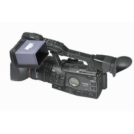 Hoodman HD450 4 Inch HD Camcorder Hood for Canon XF Camcorder Series - XF305 - XF300 - XF105 - XF100