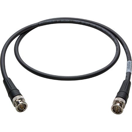 Laird HDFLEX-B-B-6 Belden 1505F RG59 3G-SDI/HDTV RG59 Super Flexible BNC Video Cable - 6 Foot