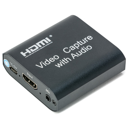 Connectronics HDMI to USB 2.0 Video Capture with Audio Insertion & Extraction
