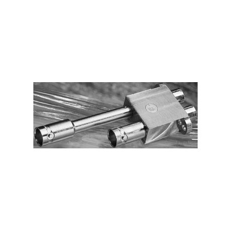 Trompeter HDVDPMT HD Dual Coaxial Miniature WECo Patch Jack - Terminated