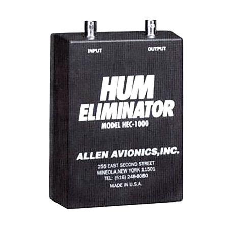 Allen Avionics HEC-1000 75 Ohm Single Channel Video Hum Eliminator ABS Housing