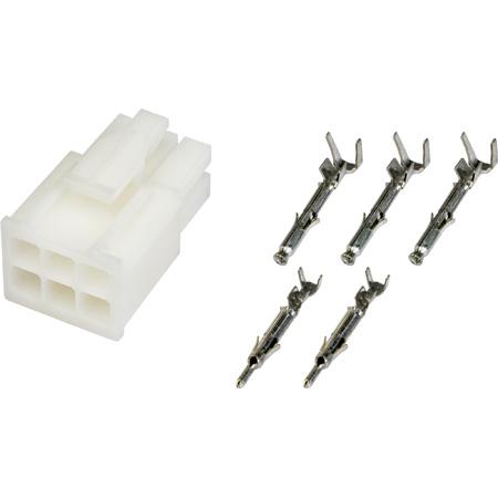 Camplex HF-BP8-KIT 6-Pin BP8 AMP Kit - Body Pins and Sockets