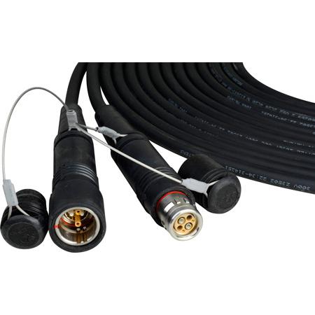 Camplex LEMO FUW-PUW Outside Broadcast SMPTE Fiber Camera Cable - 25 Foot