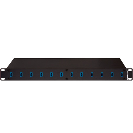 Camplex 12-Port LC to LC Optic Fiber Feedthru Rackmount Cabinet