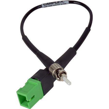 Camplex HF-SM-ASCF-STM APC SC Female to UPC ST Male Singlemode Fiber Optic Tactical Adapter- 6 Inch