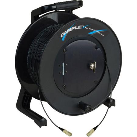 Camplex TAC1 Simplex 1-Channel OM1 Multimode SC Fiber Optic Tactical Cable Reel 1000 Foot